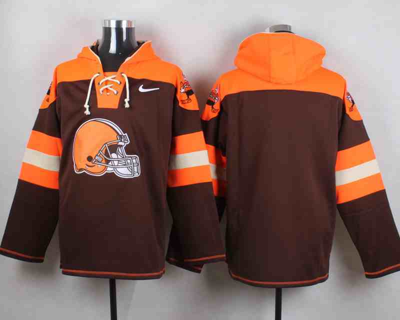 Nike Browns Blank Brown Hooded Jersey