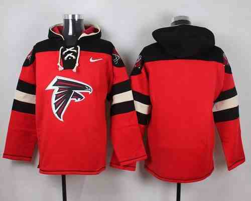 Nike Falcons Blank Red Hooded Jersey
