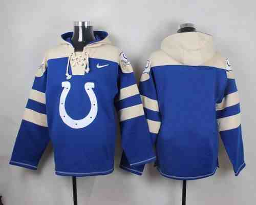 Nike Colts Blank Blue Hooded Jersey
