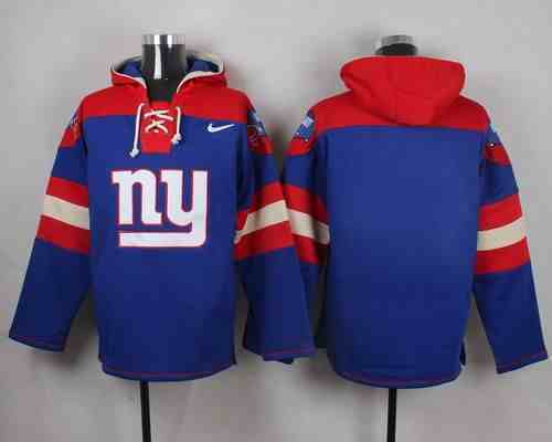Nike Giants Blank Blue Hooded Jersey
