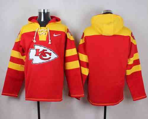 Nike Chiefs Blank Red Hooded Jersey