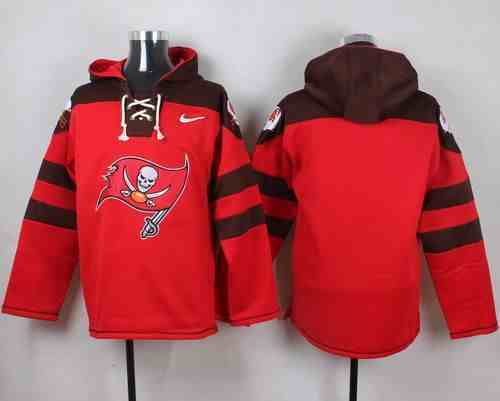 Nike Buccaneers Blank Red Hooded Jersey