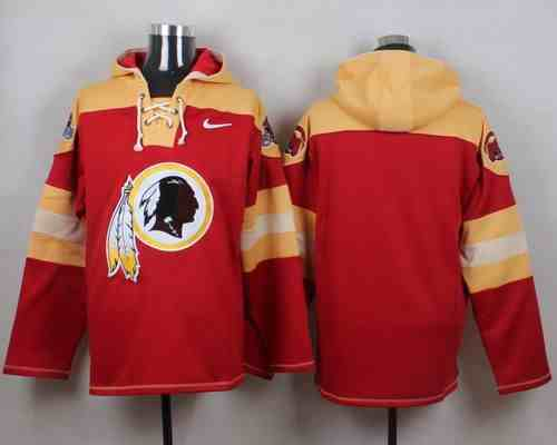 Nike Redskins Blank Red Hooded Jersey