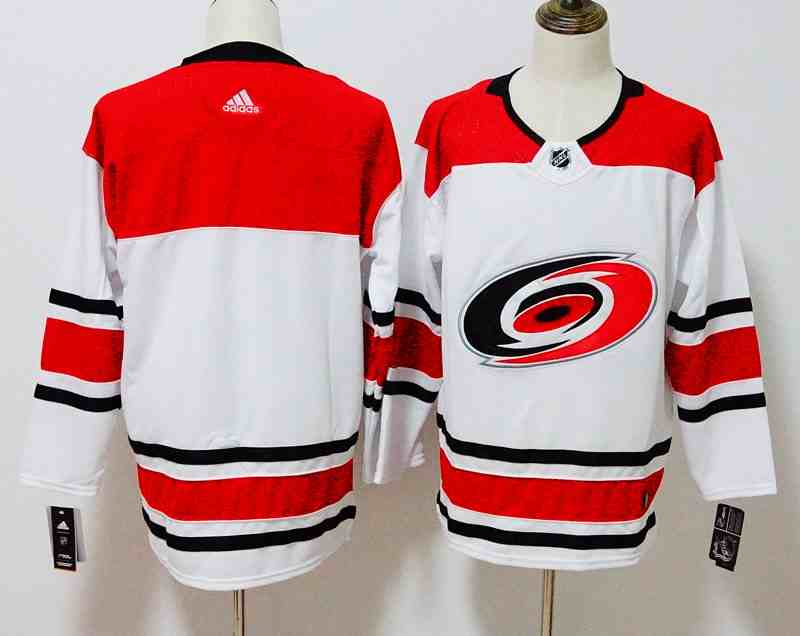 Hurricanes Blank White Adidas Jersey