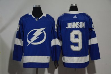 Lightning #9 Tyler Johnson Blue Adidas Jersey