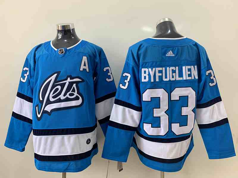 Winnipeg Jets 33 Dustin Byfuglien Light Blue Adidas Jersey