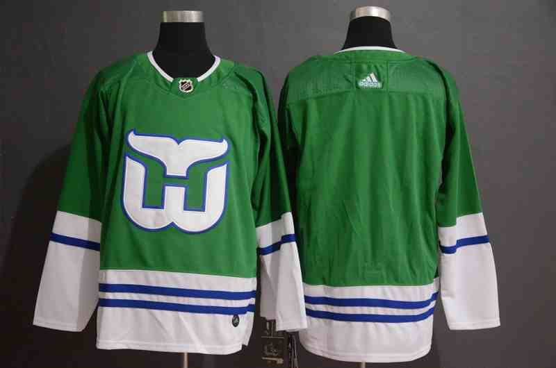 Whalers Blank Green Adidas Jersey