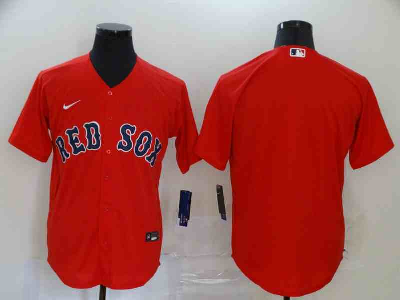 Red Sox Blank Red 2020 Nike Cool Base Jersey