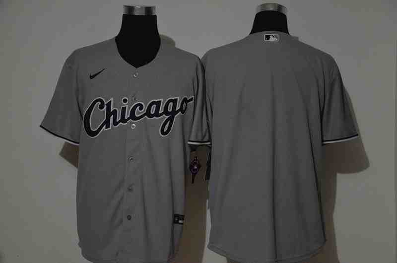 White Sox  Gray 2020 Nike Cool Base  Jersey