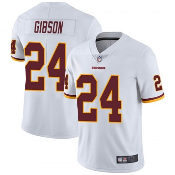 Youth Washington Redskins Antonio Gibson White Jerseys