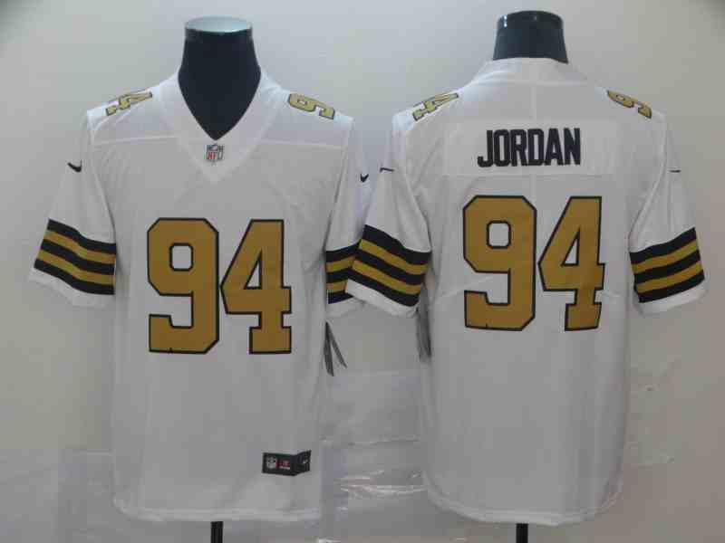 Nike Saints 94 Cameron Jordan White Color Rush Limited Youth  Jersey