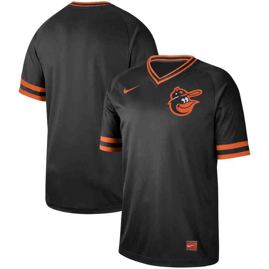 Orioles Blank Black Throwback Jersey