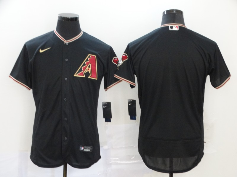 Diamondbacks Blank Black 2020 Nike Flexbase Jersey