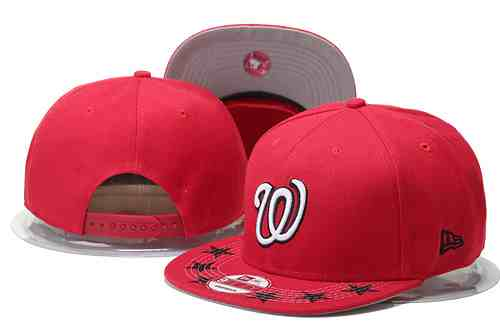Nationals-Fresh-Logo-Red-With-Star-Adjustable-Hat-GS