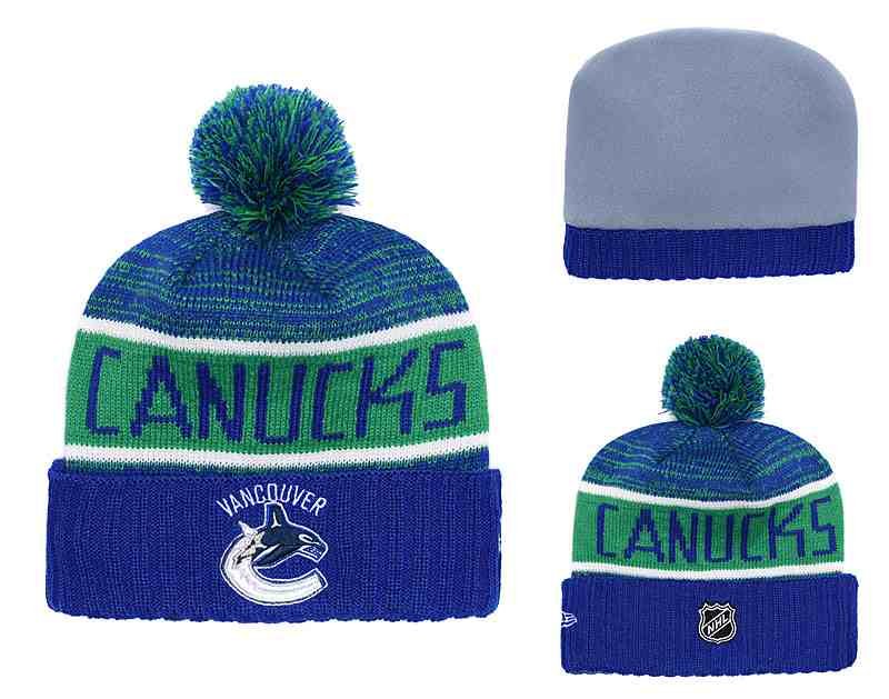 Vancouver-Canucks-Fresh-Logo-Blue-Pom-Knit-Hat-YD