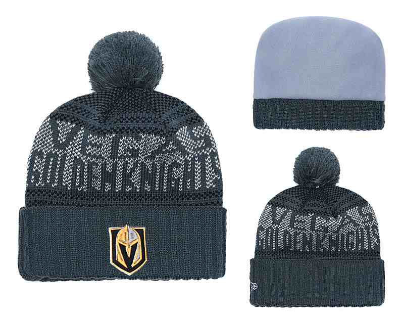 Vegas-Golden-Knights-Fresh-Logo-Gray-Pom-Knit-Hat-YD