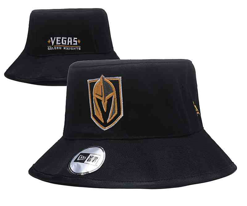 Vegas-Golden-Knights-Team-Logo-Black-Wide-Brim-Adjustable-Hat-YD