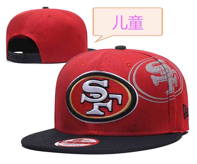 49ers-Team-Logo-Red-Youth-Adjustable-Hat-GS