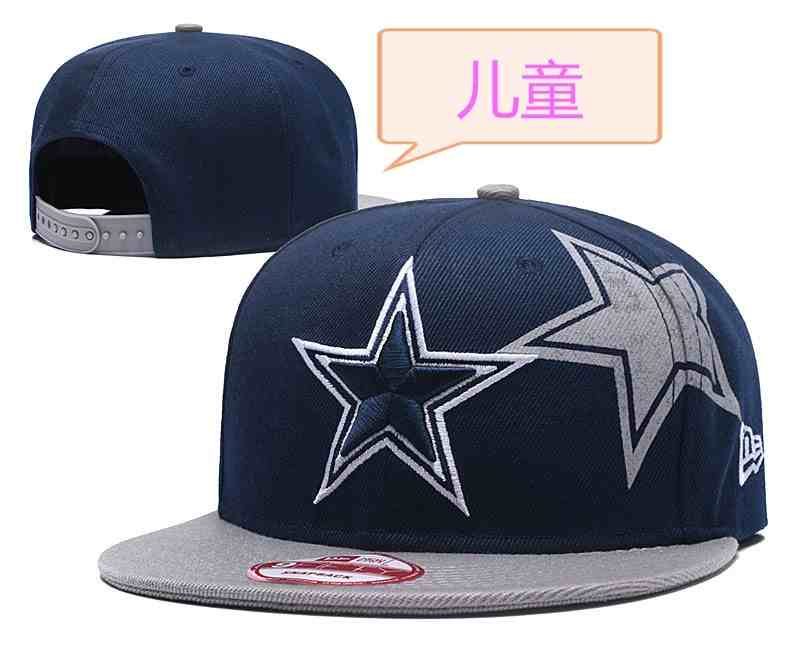 Cowboys-Team-Logo-Navy-Youth-Adjustable-Hat-GS