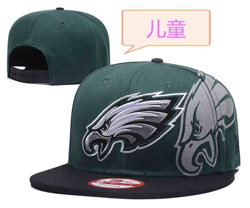 Eagles-Team-Logo-Green-Youth-Adjustable-Hat-GS