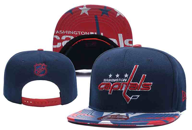 Capitals-Team-Logo-Navy-Adjustable-Hat-YD