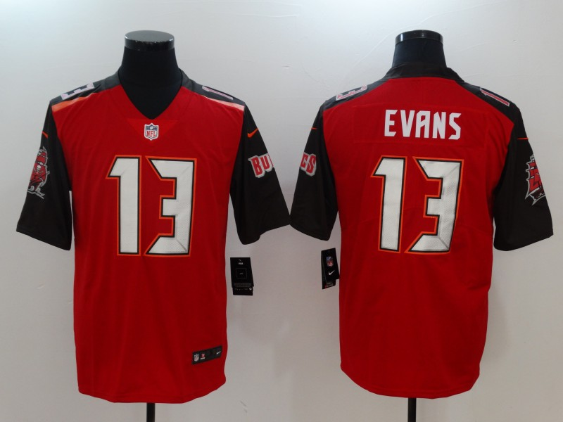 Nike Buccaneers 13 Mike Evans Red Youth Vapor Untouchable Player Limited Jersey