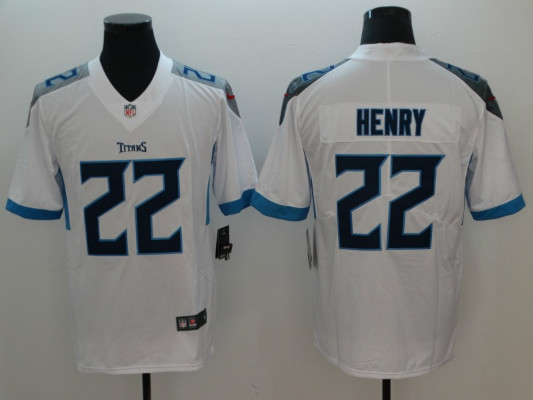 Nike Titans 22 Derrick Henry White Youth Vapor Untouchable Limited Jersey
