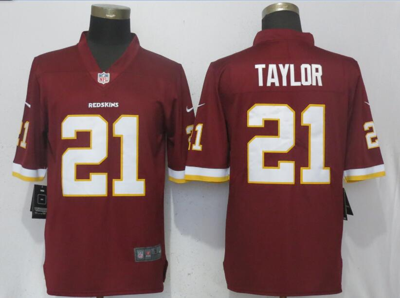 Nike Redskins 21 Sean Taylor Red Youth Vapor Untouchable Limited Jersey