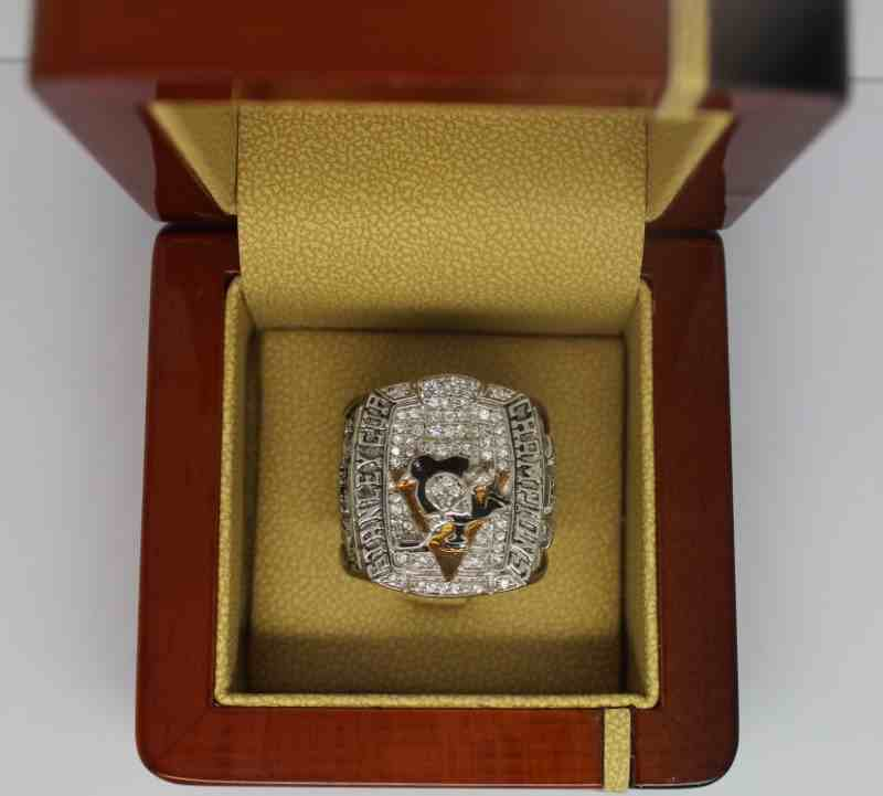 2009 NHL Championship Rings Pittsburgh Penguins Stanley Cup Ring