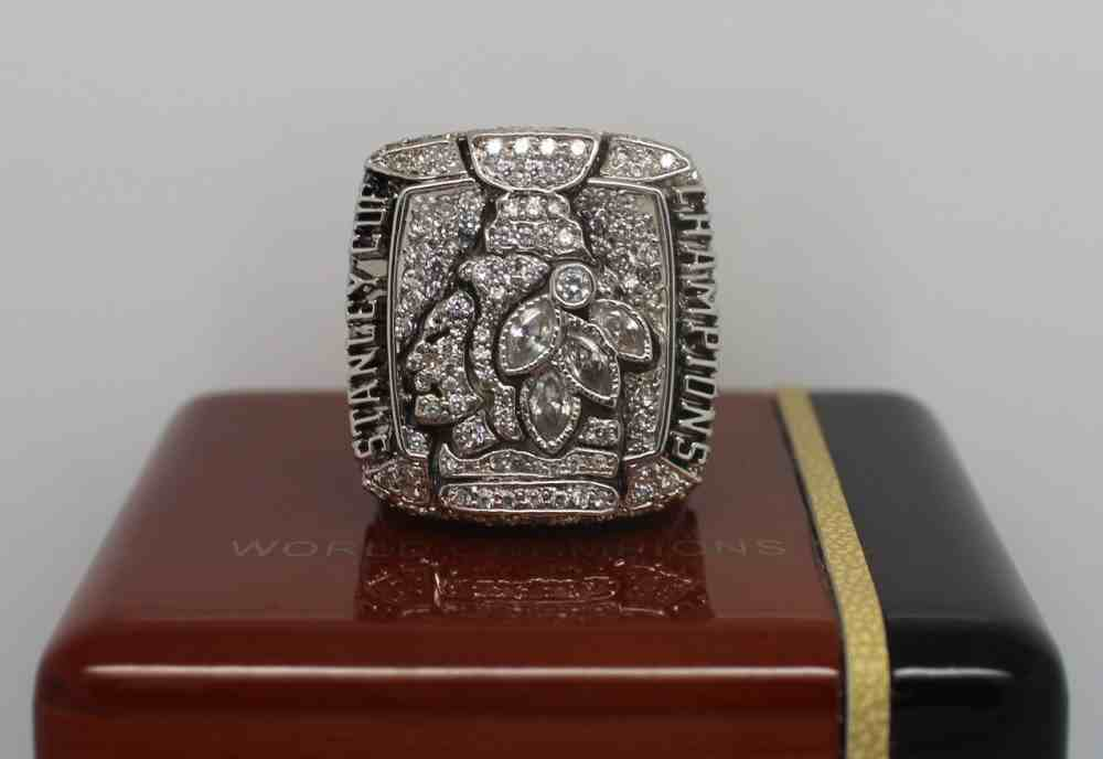 2010 NHL Championship Rings Chicago Blackhawks Stanley Cup Ring