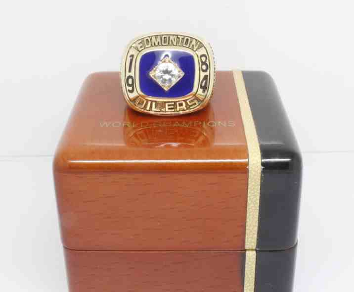 1984 NHL Championship Rings Edmonton Oilers Stanley Cup Ring