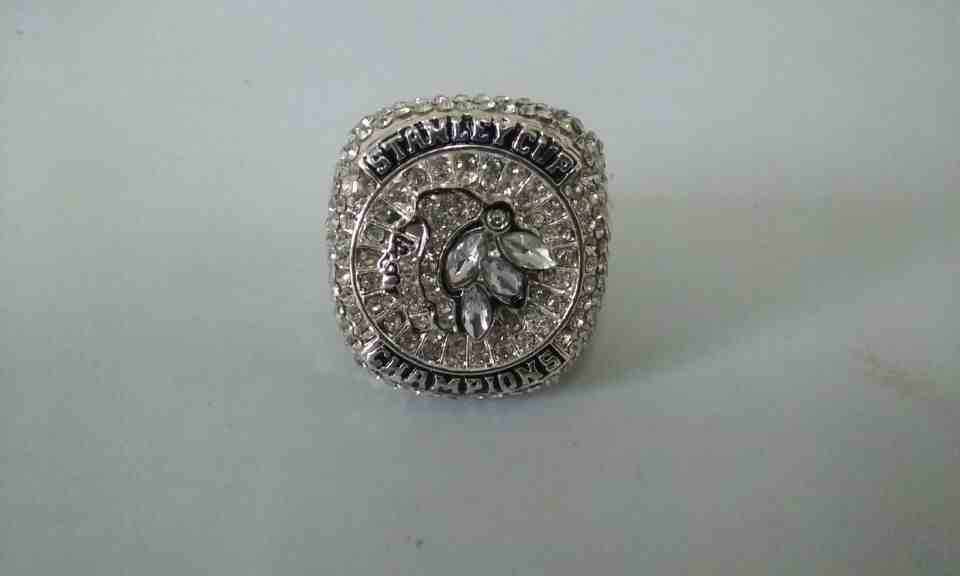 2015 NHL Championship Rings Chicago Blackhawks Stanley Cup Ring