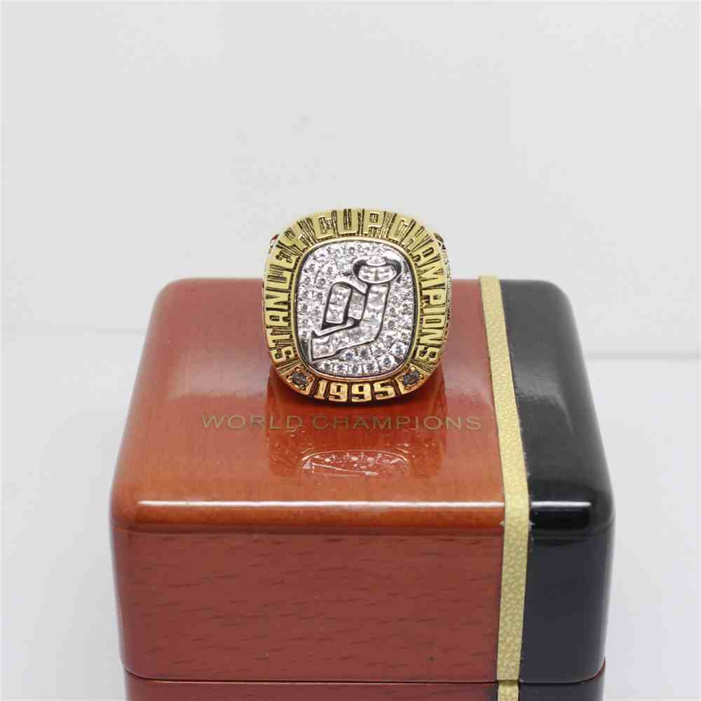 1995 NHL Championship Rings New Jersey Devils Stanley Cup Ring
