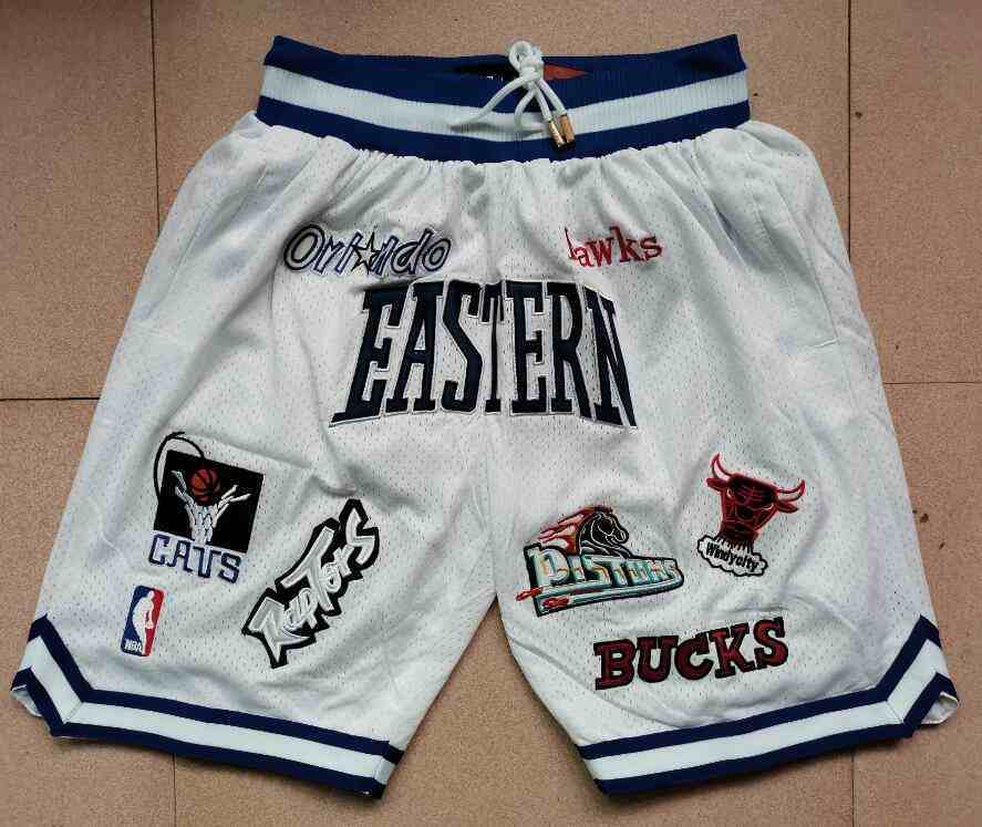 All-Starts White Just Don With Pocket Swingman Shorts