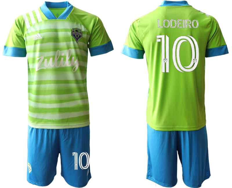 2020-21 Seattle Sounders 10 LODEIRO Home Soccer Jersey