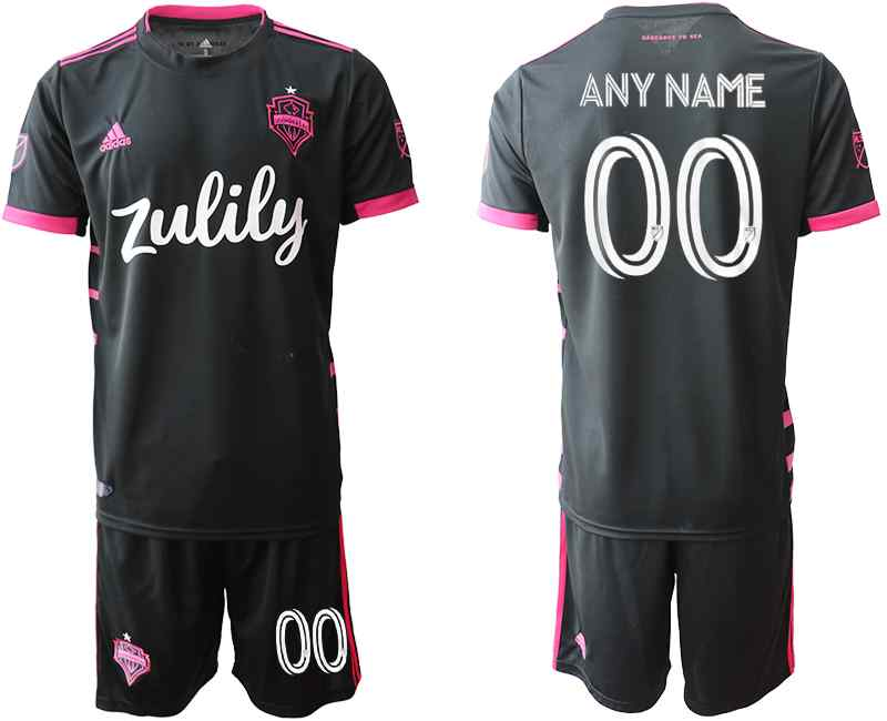 2020-21 Seattle Sounders Customized Away Soccer Jersey