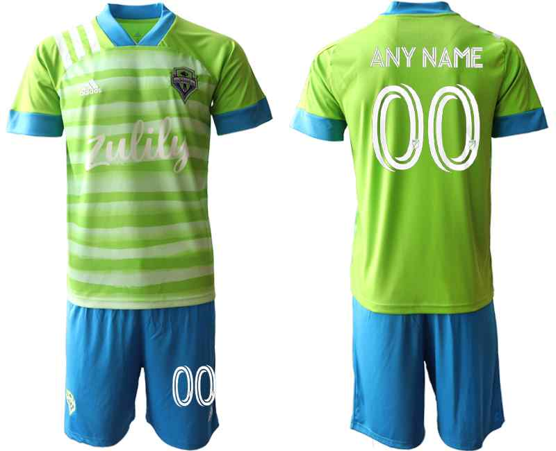 2020-21 Seattle Sounders Customized Home Soccer Jersey