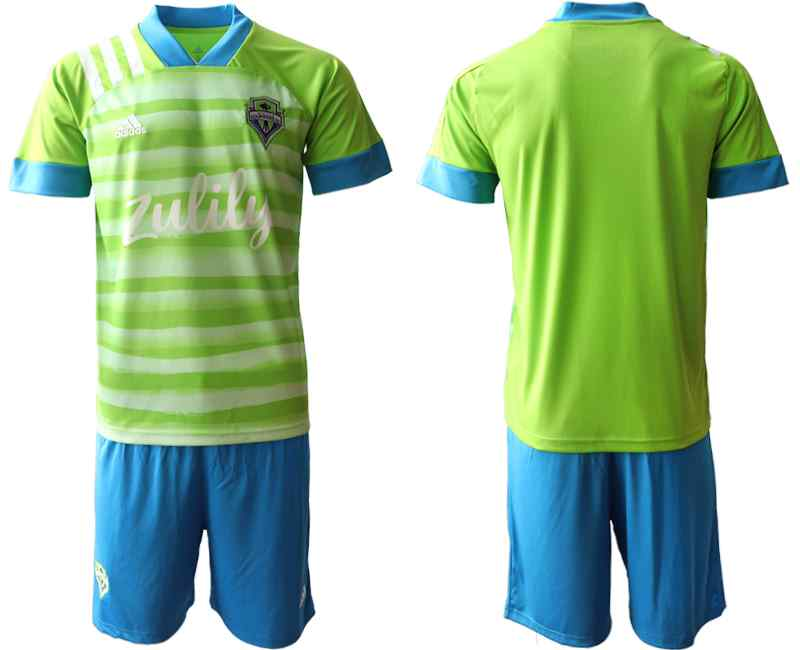 2020-21 Seattle Sounders Home Soccer Jersey